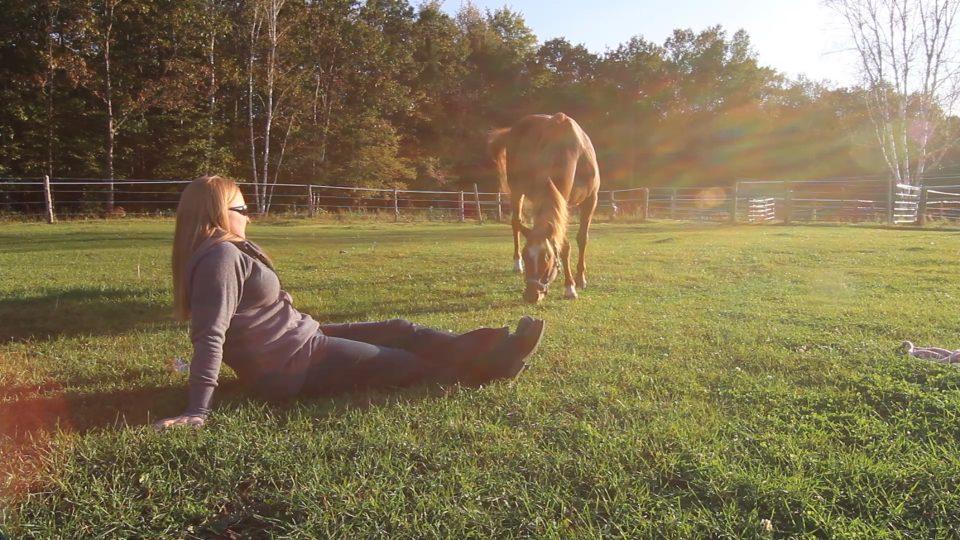 Kirsten & Angel Back of Beyond Equine Centre